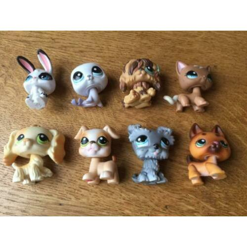 Littlest Pet Shop LPS poppetjes (o.a #347, #1170, #1077)