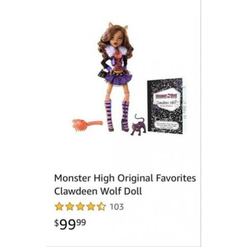 Monster High | Clawdeen Wolf