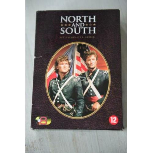 NORTH AND SOUTH == The Complete serie 8DVDbox