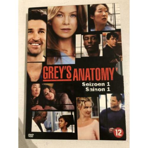 Greys anatomy seizoen 1 tm 6 dvd