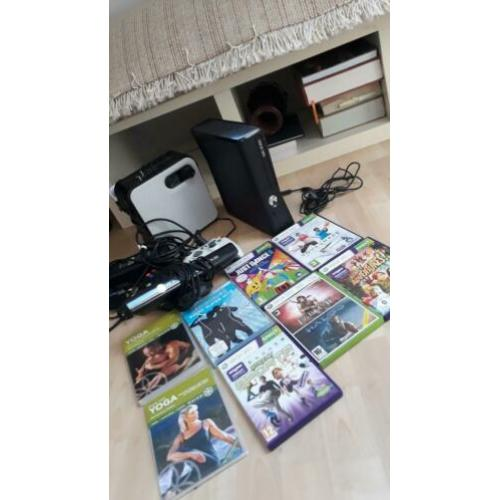 XBOX360/EXTRA GEHEUGEN/2Contr./SPELLEN/draagbare stereo.