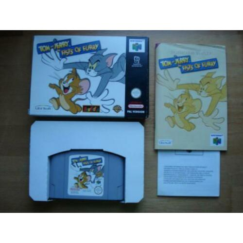 Tom & jerry Fists of Furry n64