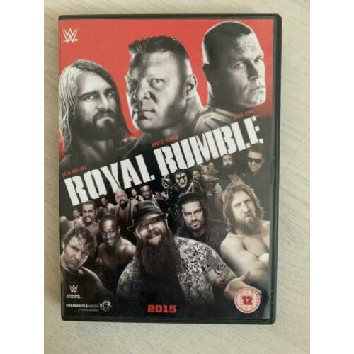 WWE Royal Rumble 2015 DVD